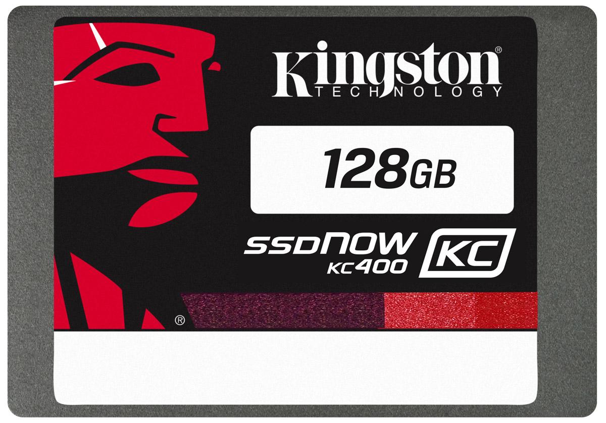 Kingston KC400 128GB SSD накопитель (SKC400S3B7A/128G)