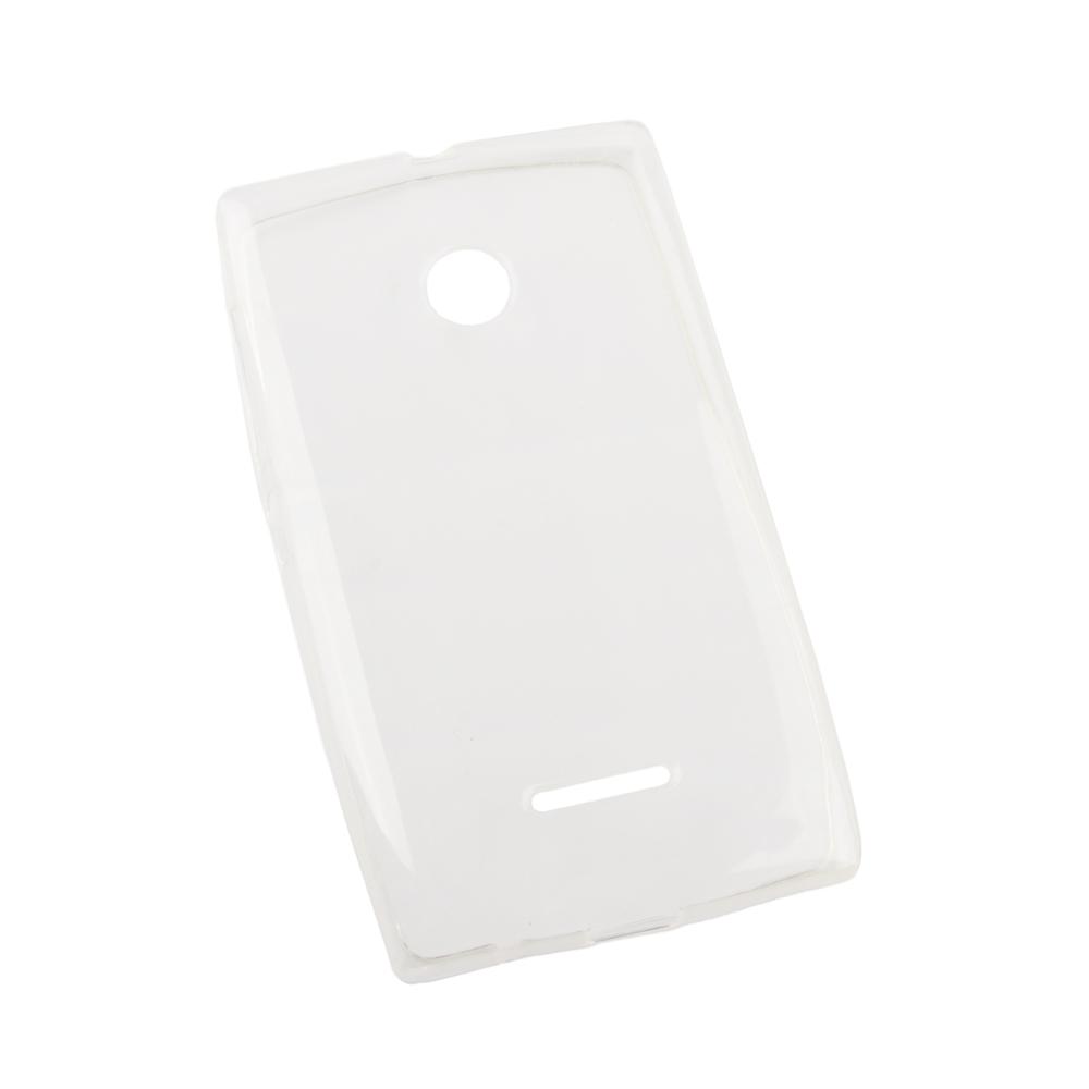 Liberty Project чехол для Microsoft Lumia 435, Clear0L-00002529Чехол Liberty Project для Microsoft Lumia 435 надежно защищает ваш смартфон от внешних воздействий, грязи, пыли, брызг. Он также поможет при ударах и падениях, не позволив образоваться на корпусе царапинам и потертостям. Чехол обеспечивает свободный доступ ко всем разъемам и кнопкам устройства.