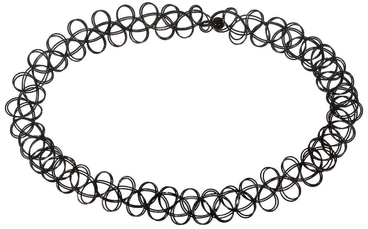Чокер Fashion House, цвет: черный. FH33195FH33195