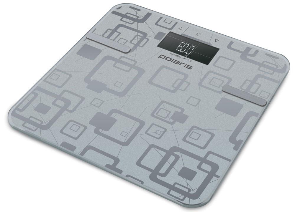 Polaris PWS 1834DGF весы напольныеPWS 1834DGFPolaris PWS 1834DGF - напольные весы, выполненные в стильном дизайне. Одновременно с этим вас удивит и функциональность данного устройства: теперь вы легко сможете контролировать свой вес, а значит, вести здоровый образ жизни. Для вашего удобства в весах предусмотрена возможность с высокой точностью определять массу тела в килограммах, фунтах и стоунах. Платформа данной модели выполнена из высокопрочного закаленного стекла, что позволит использовать весы годами и не переживать за их сохранность. Максимально допустимый вес - 180 кг. Все данные отобразятся на удобном жидкокристаллическом дисплее. Для того, чтобы сохранить заряд батареи в весах используется функция автоматического отключения. Сенсорная система для максимально точного определения веса Автоматическая установка нуля Автоматическое обнуление результата Прорезиненные ножки Закругленные безопасные углы платформы Эксклюзивный зеркальный принт