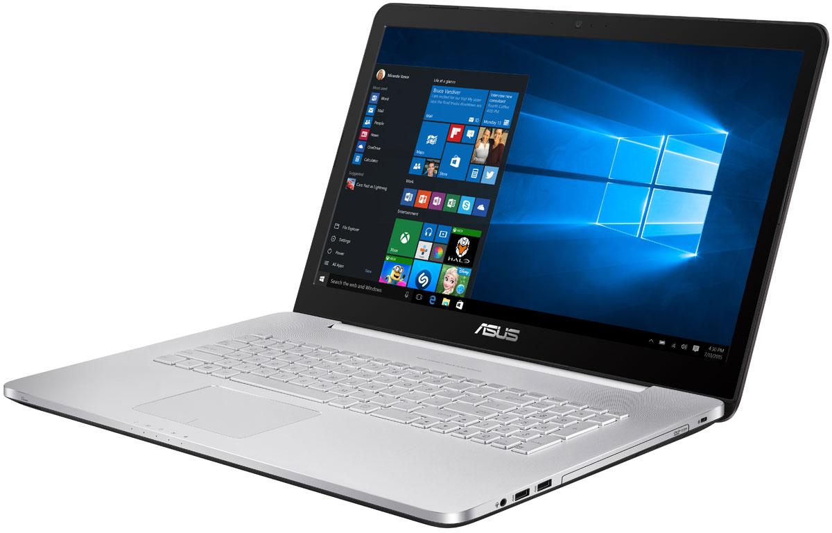 ASUS N752VX (N752VX-GC087T), Silver BlackN752VX-GC087TНоутбук Asus N752VX создан на базе высококачественных компонентов, обладающих отменной производительностью. Ноутбуки Asus N752 представляют собой мощные и инновационные устройства, открывающие перед пользователями новые возможности для работы с мультимедийными данными. Мощный процессор, современная видеокарта игрового класса и невероятно четкий экран делают Asus N752 прекрасным выбором для любителей мультимедийных развлечений. Ноутбук оснащается невероятно мощным четырехъядерным процессором Intel Core i7 и до 32 гигабайт высокоскоростной памяти DDR4, что гарантирует быструю работу любых, даже самых ресурсоемких приложений в многозадачной среде. Ноутбуки ASUS серии N оснащены современной видеокартой NVIDIA GeForce GTX 950M игрового класса, которая поможет ускорить процесс создания видео и обработку фотографий, а также даст возможность насладиться плавной визуализацией и отменной реакцией в современных играх. Данная видеокарта обладает...