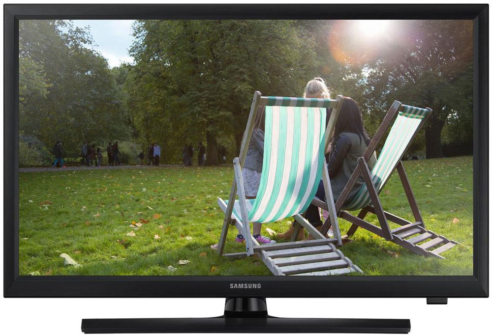 Samsung T24E310 телевизорLT24E310EX/RUSamsung T24E310 - уникальное устройство, которое сочетает в себе преимущества товаров двух разных категорий: можно смотреть телевизионные программы и в любой момент перейти к использованию устройства в качестве монитора. Наблюдайте за качественной картинкой LED-телевизора Samsung T24E310 с любого угла. Данный LED- телевизор обладает широкими углами обзора, которые составляют 178/178 градусов (по горизонтали / по вертикали). Эти дополнительные 8 градусов позволяют просматривать фильмы или фотографий не жертвуя качеством. Подключите LED-телевизор к ПК и работайте во время перерывов на рекламу вашего любимого телешоу. Теперь для этого не нужны ни специальный монитор, ни дополнительные кабели питания. Работа и отдых на одном экране! Просто подключите съемный накопитель к телевизору через USB-порт. Функция ConnectShare позволяет просматривать фото и воспроизводить аудио и видео. Телевизор оснащен всеми основными разъемами, включая...