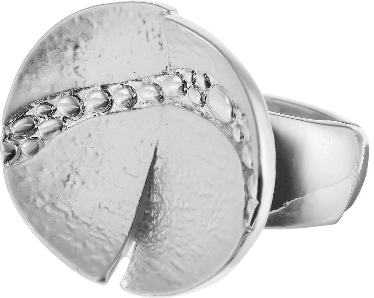 Кольцо Модные истории, цвет: серебристый. 17/004617/0046Элегантное растягивающееся кольцо Модные истории изготовлено из бижутерийного сплава с гальваническим покрытием. Изделие овальной формы, покрытие эмаль. Такое стильное кольцо идеально дополнит ваш образ и подчеркнет вашу индивидуальность.