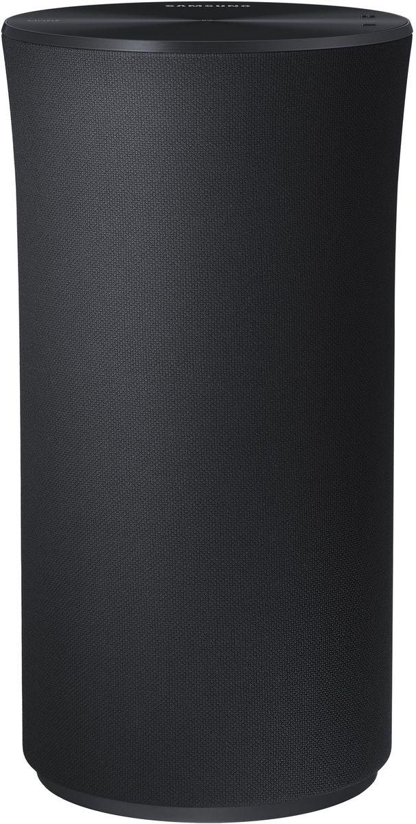 Samsung WAM1500 портативная акустическая системаWAM1500/RUSamsung WAM1500 беспроводная акустическая система с поддержкой Multiroom. В отличие от обычных динамиков, излучающих звук в одном направлении, акустическая система Wireless Audio – 360 заполняет звуком всю комнату. Это обеспечивается использованием специально разработанного кольцевого радиатора (Ring Radiator), излучающего звук во всех направлениях. Лаконичный, но эффектный дизайн аудиосистемы R1 вносит оттенок роскоши в интерьер вашего дома. Гладкая верхняя панель оснащена OLED дисплеем и служит панелью управления устройством. С помощью интуитивного интерфейса верхней панели управления системой R1 вы легко сможете выбирать любимые музыкальные треки. Просто коснитесь кнопки и скользните по панели для перехода к следующему или предыдущему треку, а с помощью кнопки Mode вы сможете переключиться в режим Wi-Fi, Bluetooth и TV SoundConnect. Яркий OLED дисплей позволит вам легко контролировать текущий режим устройства. Простой и интуитивный...