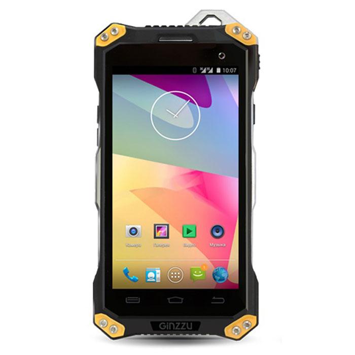 Ginzzu RS94D, BlackGinzzu RS94D BlackЗащищенный смартфон Ginzzu RS94D станет надежным спутником для тех, кто ведет активный образ жизни. Он оснащен дисплеем 4,7 и двумя слотами для SIM-карт, а также камерой с разрешением 8 Мпикс. Корпус Ginzzu RS94D обладает повышенной ударопрочностью. Смартфон выдерживает падение с высоты 1,5 метров на твердую поверхность под любым углом, надежно оберегая хрупкую электронную начинку (сохранность дисплея не гарантируется). Поддержка двух SIM-карт позволит наиболее экономно комбинировать тарифные планы для звонков и безлимитного Интернета, разделять личные и деловые контакты. В заграничных поездках дополнительный местный номер значительно позволит экономить на связи. Мощный четырехъядерный процессор с тактовой частотой 1000 МГц обеспечивает высокую производительность, стабильную работу и энергоэффективность. Смартфон отлично справится с параллельным использованием различных приложений, игр и работой в Интернете. Вы можете...