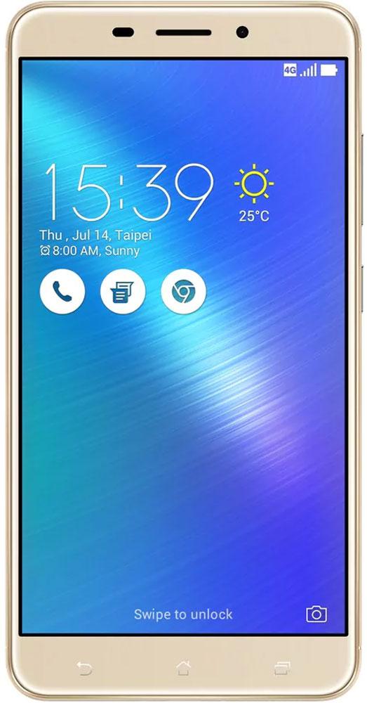 ASUS ZenFone 3 Laser ZC551KL 32GB, Gold90AZ01B2-M00050Современная жизнь течет в постоянно ускоряющемся темпе, и чтобы успеть запечатлеть ее памятные моменты, вам нужен современный смартфон - такой как ZenFone 3 Laser, в чьем красивом металлическом корпусе скрывается система мгновенной лазерной автофокусировки, срабатывающей всего за 0,03 секунды. Технология PixelMaster 3.0 выводит фотовозможности ZenFone 3 Laser далеко за рамки доступного обычным смартфонам. Чтобы запечатлеть уникальную красоту окружающего мира в ее неповторимом великолепии, эта модель оснащается сенсором с разрешением 13 мегапикселей, светосильным объективом f/2,0 и высокоточной системой лазерной автофокусировки, срабатывающей всего за 0,03 с. Если добавить к этому эффективную систему электронной стабилизации изображения и датчик цветокоррекции, то можно не сомневаться: четкие снимки и видео с точными насыщенными цветами можно получить буквально одним касанием. PixelMaster 3.0 - настоящая революция в мобильной фотографии. ZenFone 3 Laser...