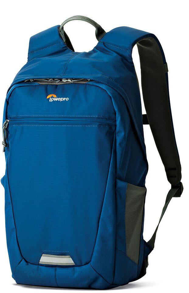 Lowepro Photo Hatchback BP 150 AW II, Blue Grey рюкзак для фотоаппаратаLP36956-PRUМногофункциональный спортивный рюкзак Photo Hatchback BP 150 AW II ориентирован на ежедневные поездки и кратковременные путешествия, вмещает фототехнику и личные вещи. Рюкзак имеет со стороны спинки доступ к фото отделению, которое выполнено в виде съемного кофра и может быть извлечено при необходимости. В этом случае рюкзак можно использовать как туристический под личные вещи. Передвижные перегородки в фотоотделении позволят организовать место под нужный комплект оборудования. Наличие кармана, выполненного с использованием системы CradleFit, обеспечит безопасность планшета, благодаря тому, что карман планшета размещен на некотором расстоянии от дна рюкзака и защищает от ударов. Имеются два внешних глубоких эластичных боковых кармана из сетчатого материала для бутылки с водой или аксессуаров первой необходимости. Рюкзак имеет обновленный дизайн спинки, металлические молнии и светоотражающую полосу для безопасности, к ней также можно закрепить ...