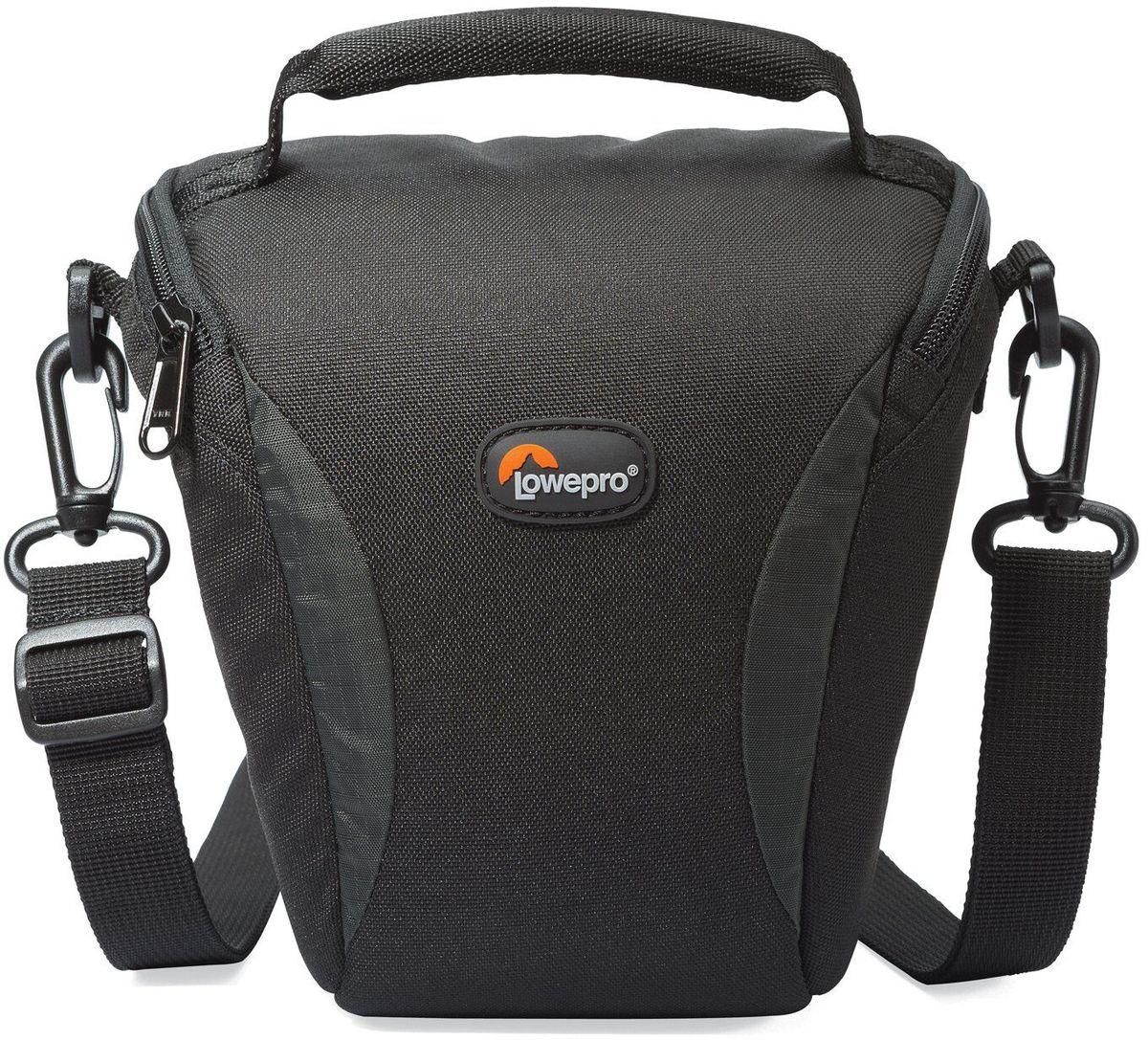 Lowepro Format TLZ 20, Black сумка для фотокамерыLP36621-0RUЛегкие современные сумки серии Format отлично подойдут для фотографов, которым нужна стильная, компактная и надежная защита своего оборудования. Прочный материал, стойкий к любым атмосферным условиям, обеспечит долгий срок службы сумки и надежную защиту камеры.