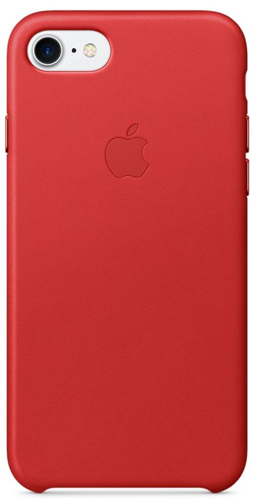 Apple Leather Case чехол для iPhone 7, RedMMY62ZM/AЧехлы, созданные Apple, точно повторяют контуры iPhone, не делая его громоздким. Apple Leather Case изготовлен из мягкой кожи европейского производства, которая со временем покрывается благородной патиной. Мягкая внутренняя поверхность, выполненная из микроволокна, защищает корпус вашего iPhone. А кнопки из обработанного алюминия идеально подходят по цвету к чехлу.