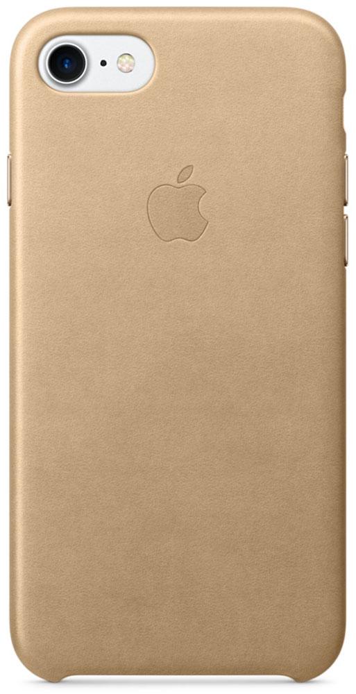 Apple Leather Case чехол для iPhone 7, Tan