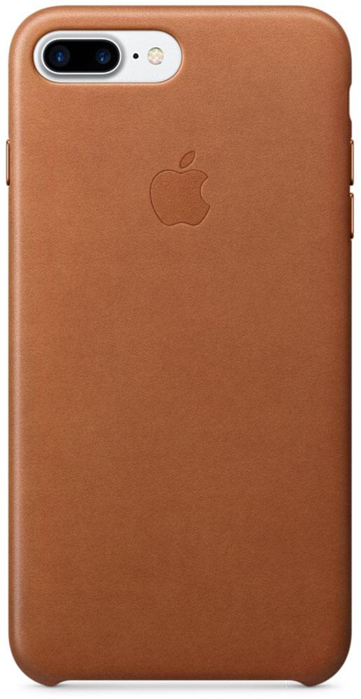 Apple Leather Case чехол для iPhone 7 Plus, Saddle BrownMMYF2ZM/AЧехлы, созданные Apple, точно повторяют контуры iPhone, не делая его громоздким. Apple Leather Case изготовлен из мягкой кожи европейского производства, которая со временем покрывается благородной патиной. Мягкая внутренняя поверхность, выполненная из микроволокна, защищает корпус вашего iPhone. А кнопки из обработанного алюминия идеально подходят по цвету к чехлу.
