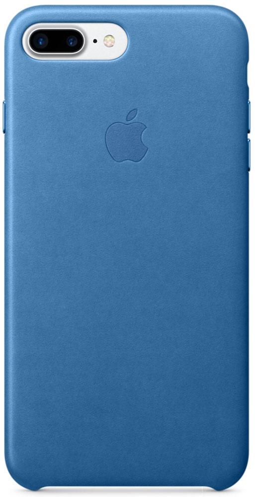 Apple Leather Case чехол для iPhone 7 Plus, Sea BlueMMYH2ZM/AЧехлы, созданные Apple, точно повторяют контуры iPhone, не делая его громоздким. Apple Leather Case изготовлен из мягкой кожи европейского производства, которая со временем покрывается благородной патиной. Мягкая внутренняя поверхность, выполненная из микроволокна, защищает корпус вашего iPhone. А кнопки из обработанного алюминия идеально подходят по цвету к чехлу.
