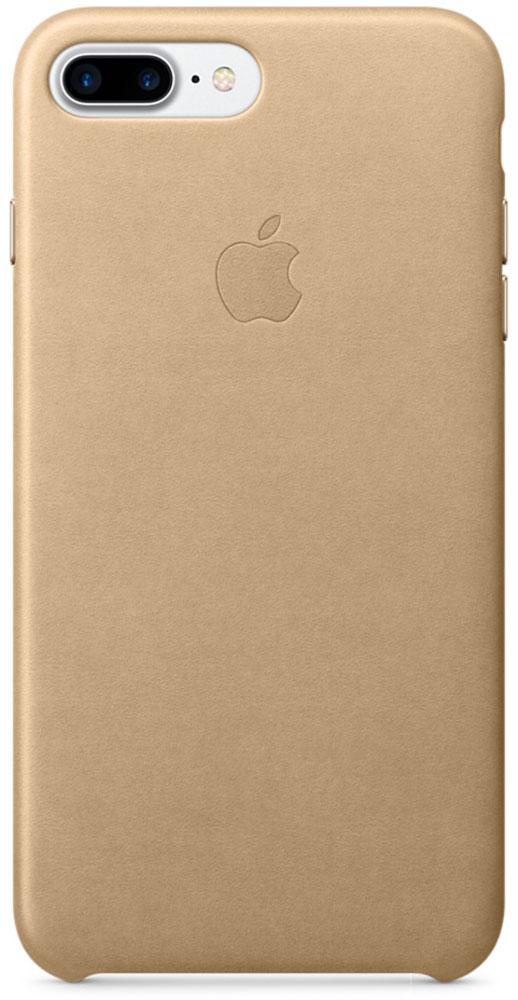 Apple Leather Case чехол для iPhone 7 Plus, Tan