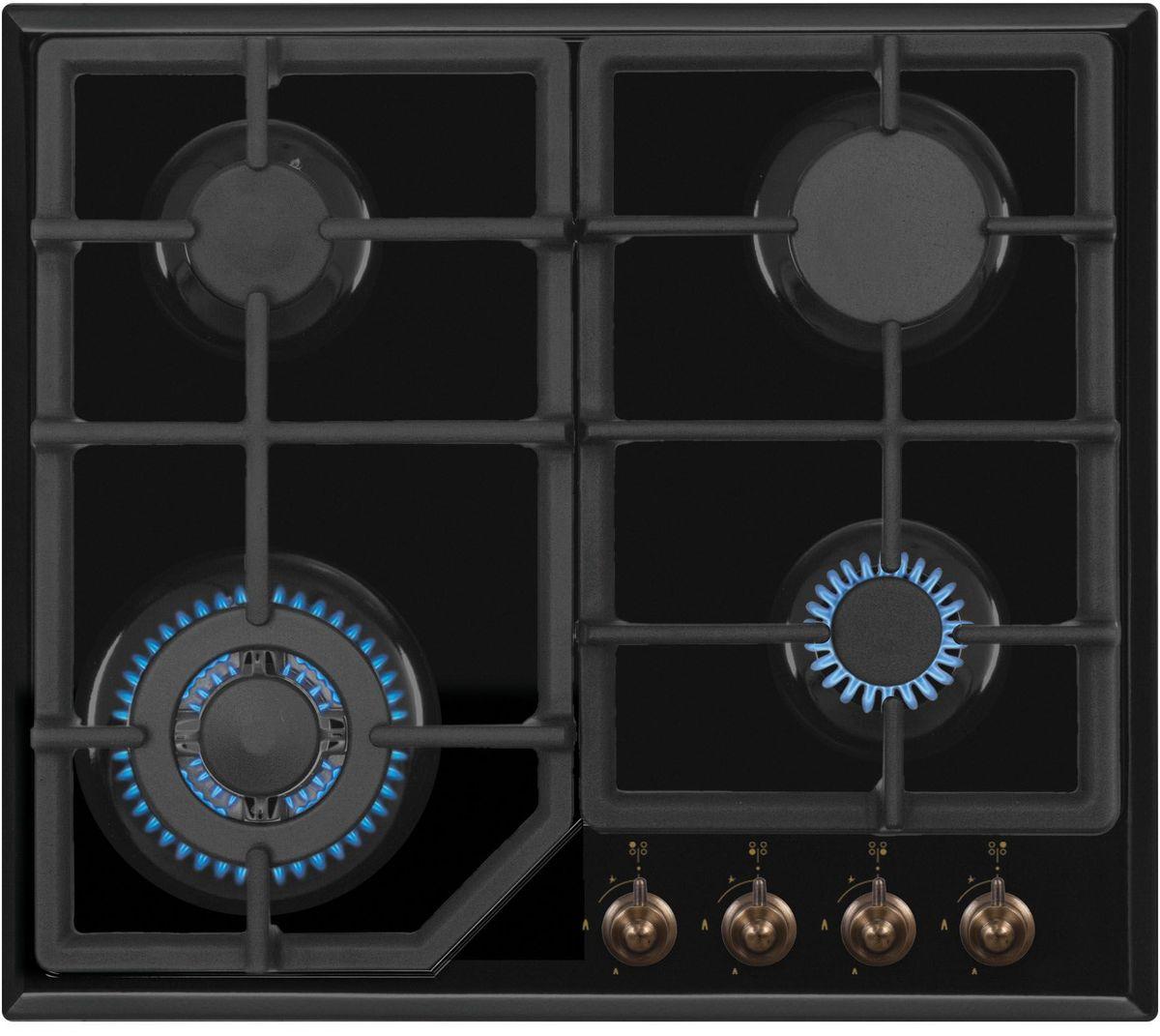Simfer H60M41L512 панель варочная газоваяH60M41L512Газовая варочная панель Simfer H60M41L512 с чистым пламенем доведет вашу сковороду до нужной температуры без всяких задержек. Включите её и всё днище сковороды будет моментально нагрето. Благодаря идеальному расположению панели управления и индикатора уровня мощности прямо спереди этой варочной панели, любой повар, будь он левша или правша, сможет пользоваться ими с одинаковой лёгкостью. Газовая варочная поверхность Simfer H60M41L512 упрощает приготовление и делает его безопаснее благодаря особой форме подставок, обеспечивающих абсолютную устойчивость посуды. Нет способа быстрее и удобнее для того, чтобы разжечь конфорку, чем автоподжиг варочной панели. Просто поверните ручку, чтобы открыть и зажечь газ одним плавным движением.