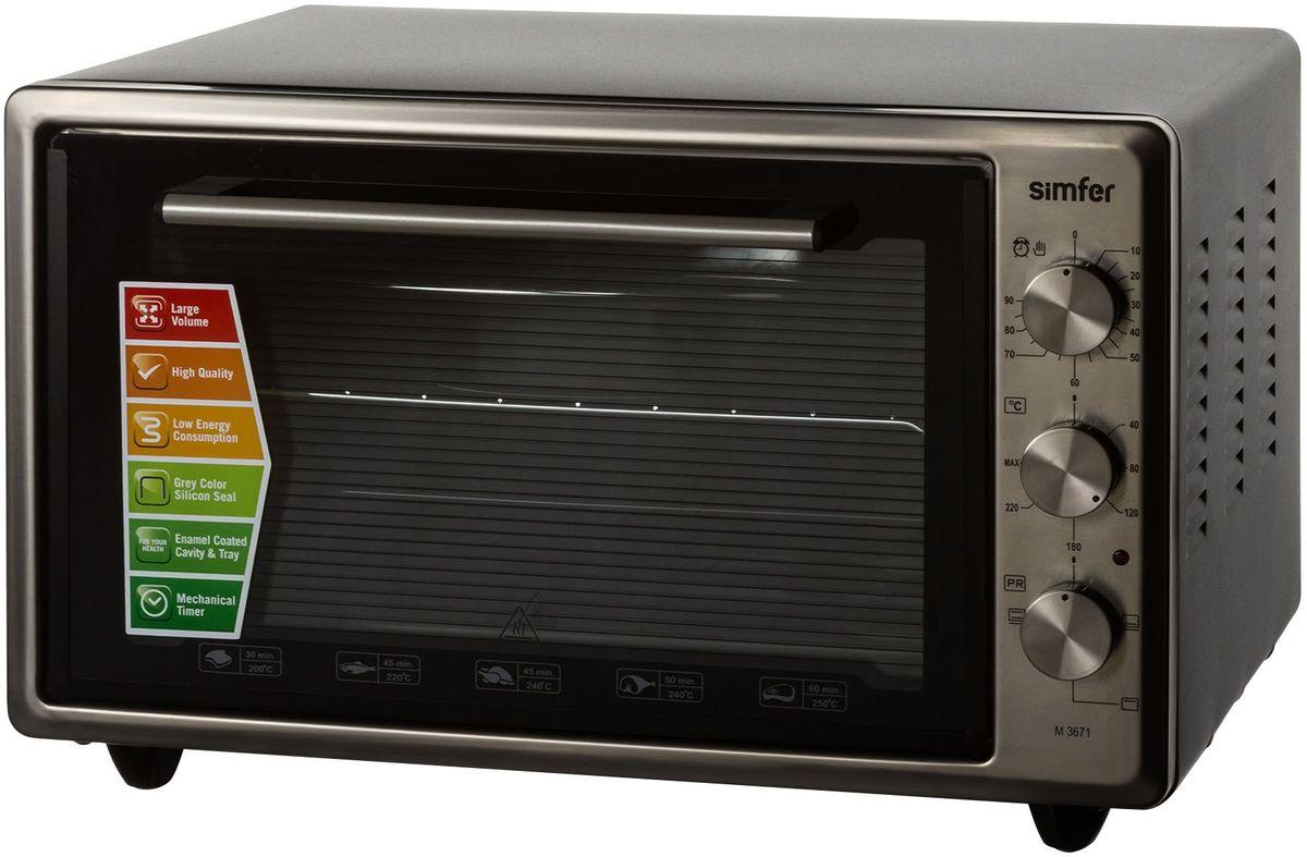 Simfer M3671 мини-печь