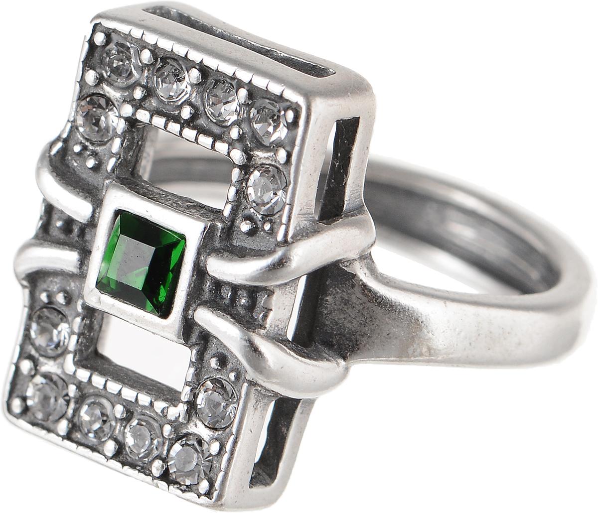 Кольцо Jenavi Изумрудные мечты. Риголит, цвет: серебряный, зеленый. h8023030. Размер 16h8023030Элегантное кольцо Jenavi Изумрудные мечты. Риголит изготовлено из гипоаллергенного ювелирного сплава. Декоративная часть оформлена кристаллами Swarovski. Такое стильное кольцо идеально дополнит ваш образ и подчеркнет вашу индивидуальность.