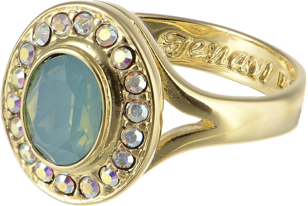 Кольцо Jenavi Murano. Навогеро, цвет: золотой. r468p003. Размер 18r468p003Элегантное кольцо Jenavi Murano. Навогеро изготовлено из гипоаллергенного ювелирного сплава. Декоративная часть оформлена кристаллами Swarovski. Такое стильное кольцо идеально дополнит ваш образ и подчеркнет вашу индивидуальность.