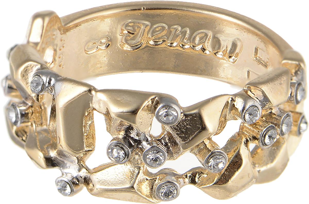 Кольцо Jenavi Relax. Сэсуон, цвет: золотой. r973q000. Размер 18r973q000Элегантное кольцо Jenavi Relax. Сэсуон изготовлено из гипоаллергенного ювелирного сплава. Декоративная часть оформлена кристаллами Swarovski. Внутренняя сторона изделия дополнена гравировкой с названием бренда. Такое стильное кольцо идеально дополнит ваш образ и подчеркнет вашу индивидуальность.