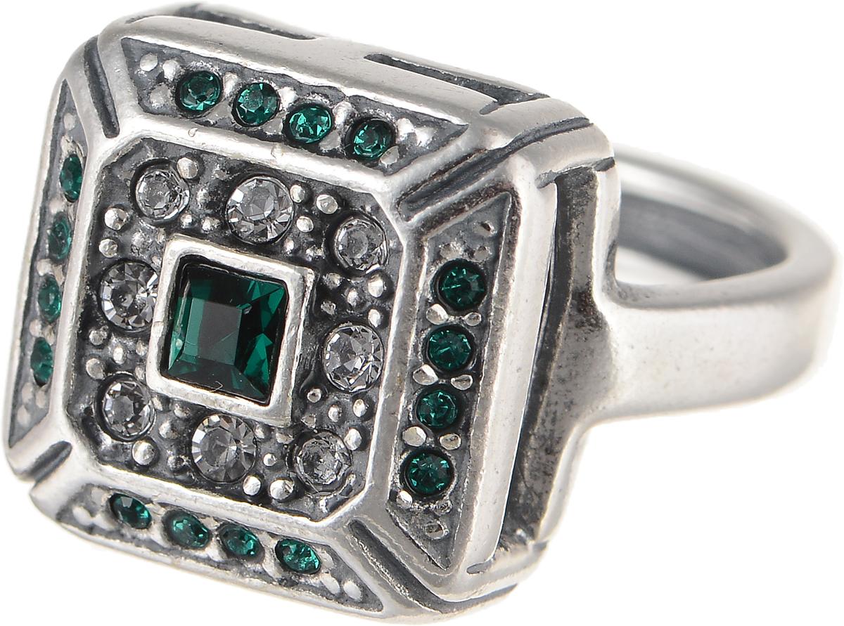 Кольцо Jenavi Изумрудные мечты. Юрстэ, цвет: серебряный, зеленый. h7993030. Размер 16h7993030Элегантное кольцо Jenavi Изумрудные мечты. Юрстэ изготовлено из гипоаллергенного ювелирного сплава. Декоративная часть оформлена стразами Swarovski. Такое стильное кольцо идеально дополнит ваш образ и подчеркнет вашу индивидуальность.