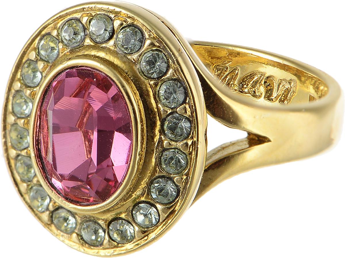 Кольцо Jenavi Murano. Навогеро, цвет: золотой, розовый. r468p010. Размер 17r468p010Элегантное кольцо Jenavi Murano. Навогеро изготовлено из гипоаллергенного ювелирного сплава. Декоративная часть оформлена кристаллами Swarovski. Такое стильное кольцо идеально дополнит ваш образ и подчеркнет вашу индивидуальность.