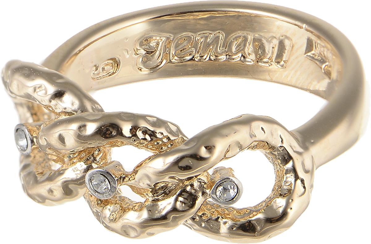 Кольцо Jenavi Relax. Исинми, цвет: золотой. r964q000. Размер 19r964q000Элегантное кольцо Jenavi Relax. Исинми изготовлено из гипоаллергенного ювелирного сплава. Декоративная часть оформлена кристаллами Swarovski. Внутренняя сторона изделия дополнена гравировкой с названием бренда. Такое стильное кольцо идеально дополнит ваш образ и подчеркнет вашу индивидуальность.