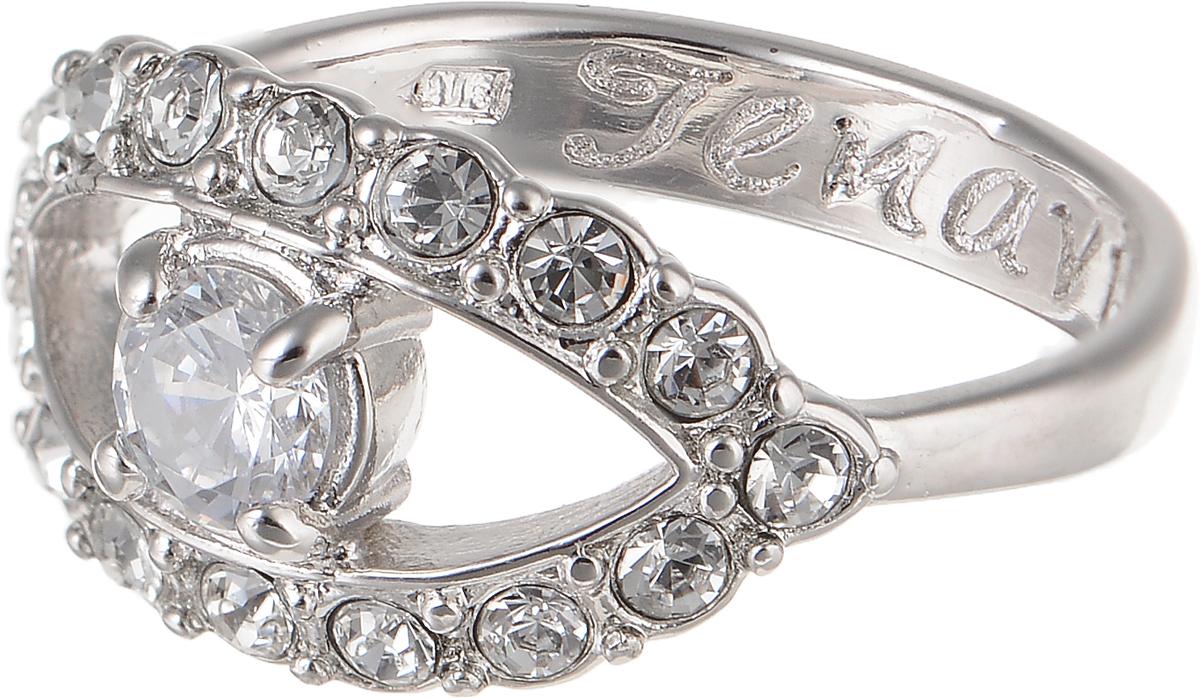 Кольцо Jenavi Teona. Аусесс, цвет: серебряный. f421f0a0. Размер 20f421f0a0Элегантное кольцо Jenavi Teona. Аусесс изготовлено из гипоаллергенного ювелирного сплава. Декоративная часть оформлена стразами из фианита. Внутренняя сторона изделия дополнена гравировкой с названием бренда. Такое стильное кольцо идеально дополнит ваш образ и подчеркнет вашу индивидуальность.