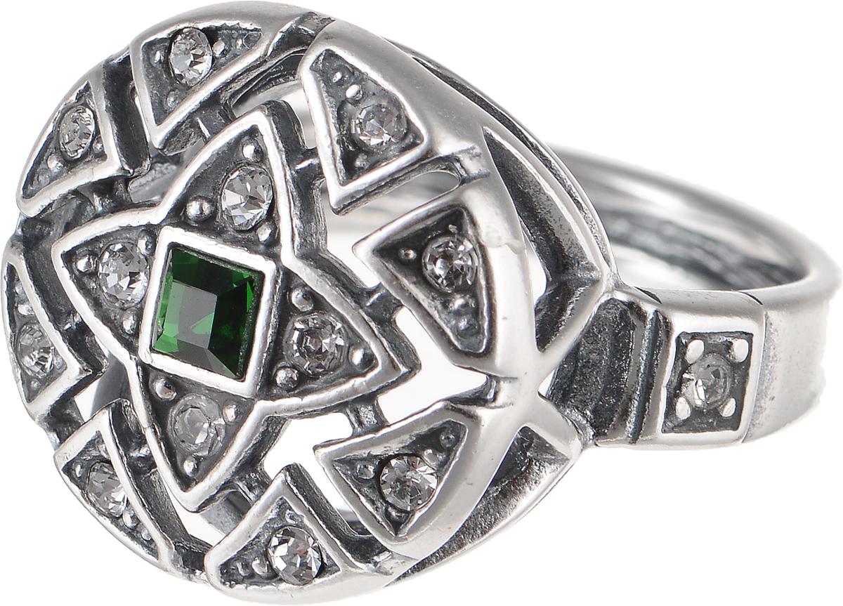 Кольцо Jenavi Изумрудные мечты. Верта, цвет: серебряный, зеленый. h7933030. Размер 16h7933030Элегантное кольцо Jenavi Изумрудные мечты. Верта изготовлено из гипоаллергенного ювелирного сплава. Декоративная часть оформлена стразами Swarovski. Такое стильное кольцо идеально дополнит ваш образ и подчеркнет вашу индивидуальность.