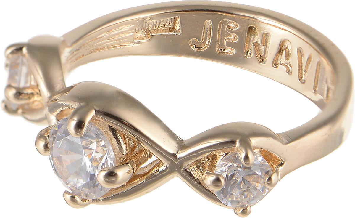 Кольцо Jenavi Teona. Суал, цвет: золотой. f426p0a0. Размер 18f426p0a0Элегантное кольцо Jenavi Teona. Суал изготовлено из гипоаллергенного ювелирного сплава. Декоративная часть оформлена фианитами. Такое стильное кольцо идеально дополнит ваш образ и подчеркнет вашу индивидуальность.