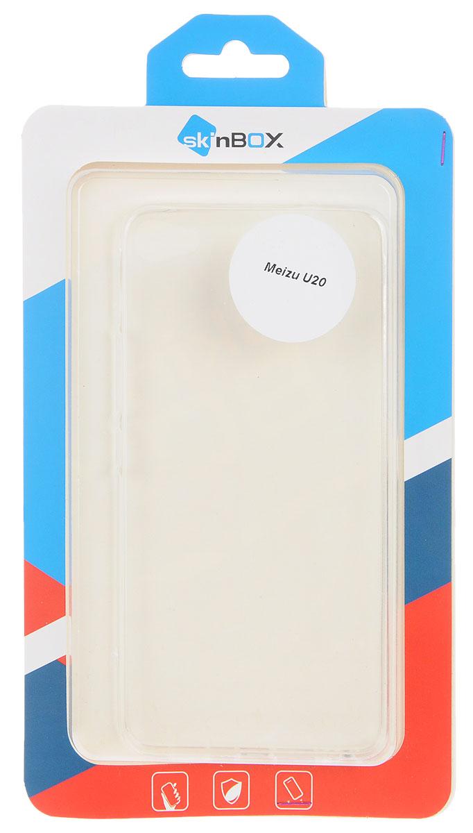 Skinbox Slim Silicone чехол для Meizu U20, Transparent