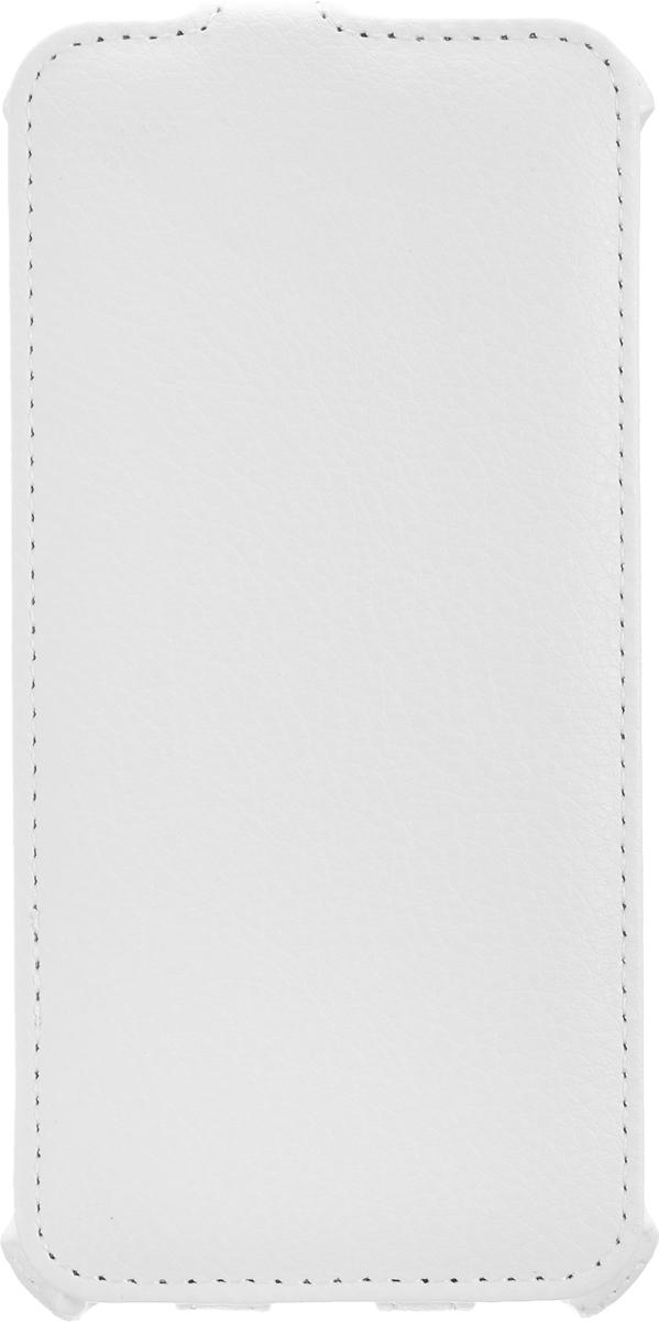 Liberty Project чехол для Apple iPhone 6/6s, WhiteR0006593Флип-чехол Liberty Project для Apple iPhone 6/6s надежно защищает ваш смартфон от внешних воздействий, грязи, пыли, брызг. Он также поможет при ударах и падениях, не позволив образоваться на корпусе царапинам и потертостям. Чехол обеспечивает свободный доступ ко всем функциональным кнопкам смартфона и камере.