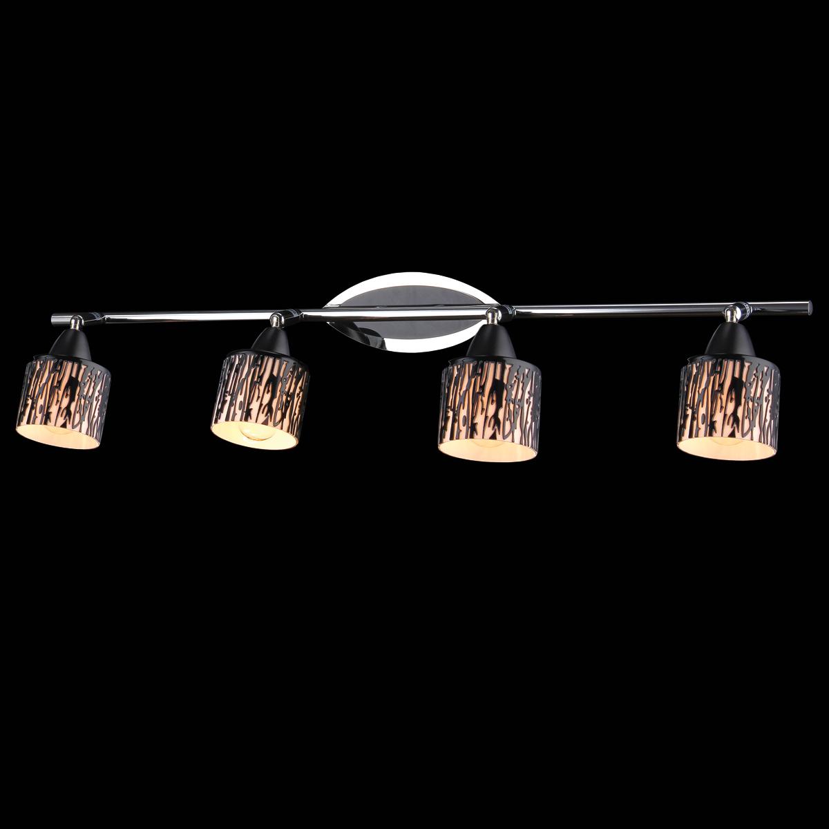 Светильник Natali Kovaltseva, 4 x E14, 40W, цвет: хром. 10862/410862/4 CHROMEВ коллекциях NATALI KOVALTSEVA представлены разные стили – от классики до хайтека. Дизайн и технологическая составляющая продукции разрабатывается в R&D центре компании, который находится в г. Дюссельдорф, Германия. При производстве нашей продукции используются высококачественные и эксклюзивные материалы: хрусталь ASFOR, муранское стекло, перламутр, 24-каратное золото, бронза. Производство светильников соответствует стандарту системы менеджмента качества ISO 9001-2000. На всю продукцию ТМ Natali Kovaltseva распространяется гарантия.