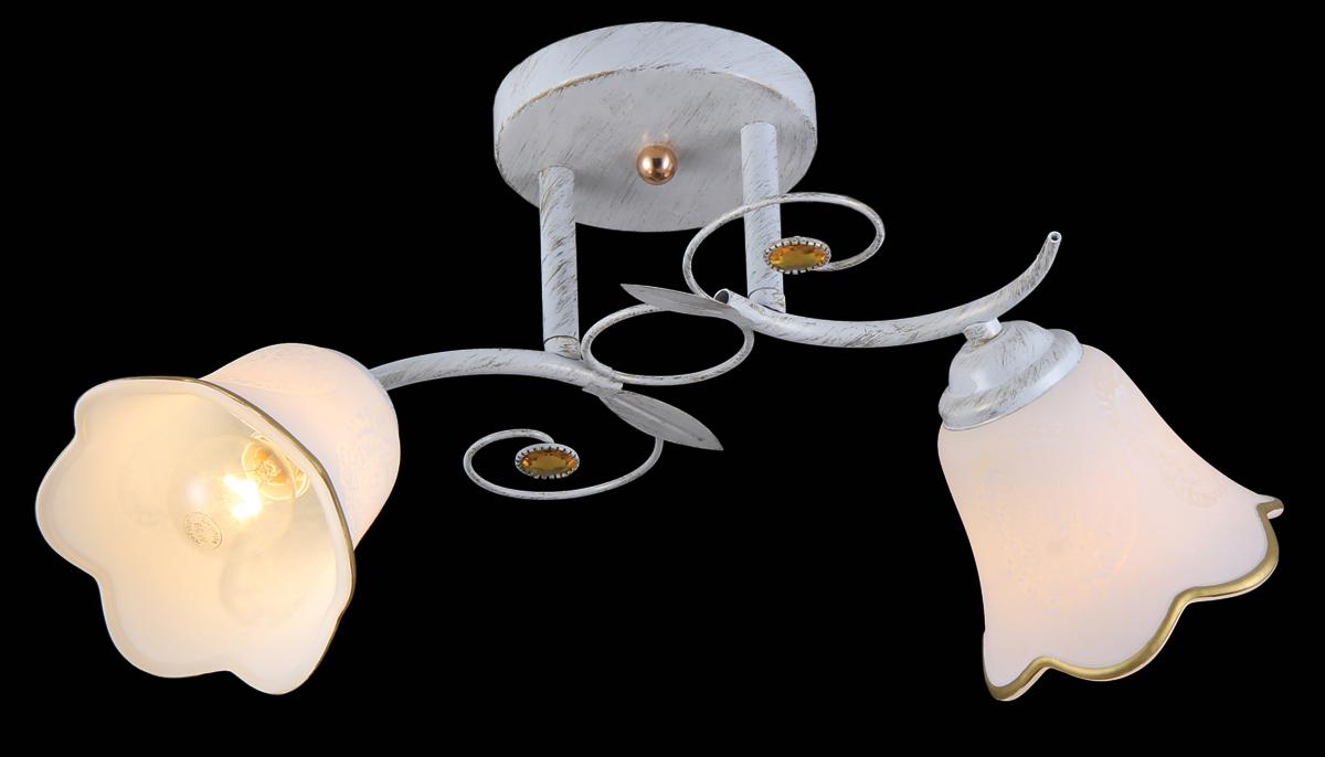 Люстра Natali Kovaltseva, 2 x E14, 40W. 11452/211452/2 WHITE GOLDВ коллекциях NATALI KOVALTSEVA представлены разные стили – от классики до хайтека. Дизайн и технологическая составляющая продукции разрабатывается в R&D центре компании, который находится в г. Дюссельдорф, Германия. При производстве нашей продукции используются высококачественные и эксклюзивные материалы: хрусталь ASFOR, муранское стекло, перламутр, 24-каратное золото, бронза. Производство светильников соответствует стандарту системы менеджмента качества ISO 9001-2000. На всю продукцию ТМ Natali Kovaltseva распространяется гарантия.