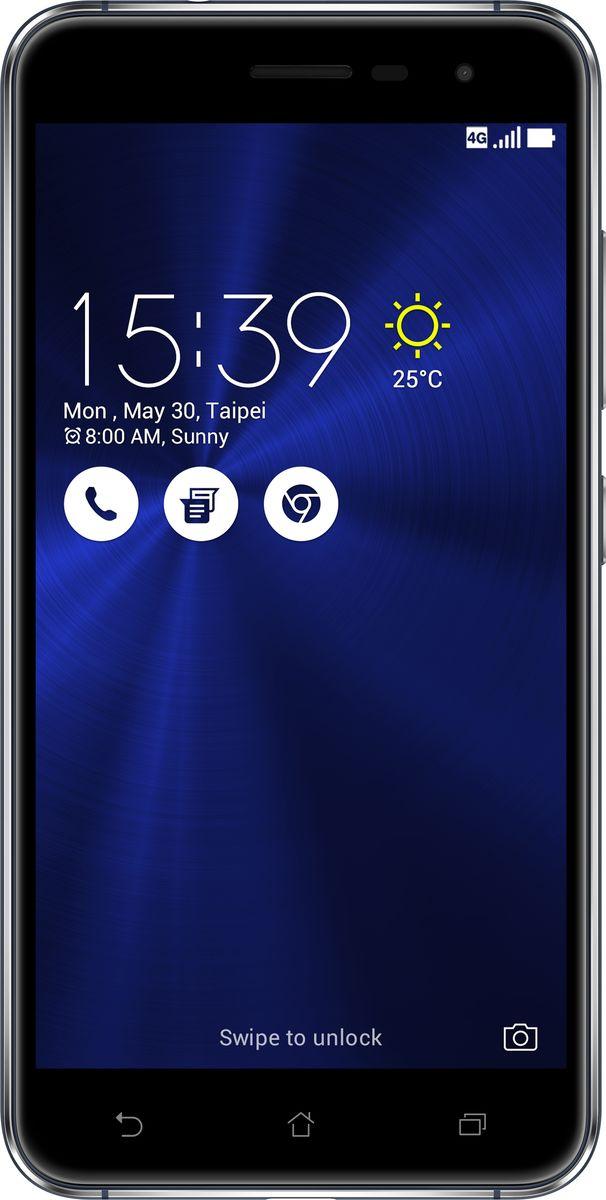 ASUS ZenFone 3 ZE520KL, Sapphire Black (90AZ0171-M00580)90AZ0171-M00580Asus ZenFone 3 - это современный смартфон с оригинальным дизайном и высококачественной камерой, который станет вашу жизнь чуть более необычной. Современный смартфон, отделанный с обеих сторон защитным стеклом безупречно выверенной формы. Тонкий корпус, который идеально ложится в ладонь. Оригинальный узор из концентрических окружностей, украшающий заднюю панель и выгравированный на кнопках, как отражение философской гармонии Дзен. Вы хотите получить совершенно новые впечатления от своего нового смартфона? Просто взгляните и прикоснитесь к ZenFone 3. ZenFone 3 - это синоним тонкой работы. Заключенный в корпус из высокопрочного стекла Corning Gorilla Glass со скругленными кромками, данный смартфон имеет толщину всего 7,69 мм. Красоту его изысканного дизайна подчеркивают акценты на боковых гранях, выполненные методом алмазной резки. Это шедевр современного инженерного искусства, которым вы никогда не устанете наслаждаться. ZenFone 3...