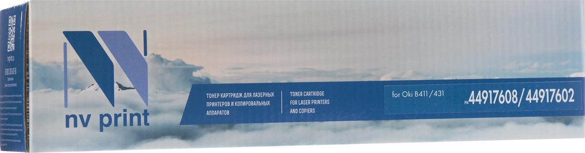 NV Print 44917608/44917602, Black тонер-картридж для Oki 431/MB491NV-44917608/44917602Совместимый лазерный картридж NV Print 44917608/44917602 для печатающих устройств Oki - это альтернатива приобретению оригинальных расходных материалов. При этом качество печати остается высоким. Картридж обеспечивает повышенную чёткость чёрного текста и плавность переходов оттенков серого цвета и полутонов, позволяет отображать мельчайшие детали изображения. Лазерные принтеры, копировальные аппараты и МФУ являются более выгодными в печати, чем струйные устройства, так как лазерных картриджей хватает на значительно большее количество отпечатков, чем обычных. Для печати в данном случае используются не чернила, а тонер.