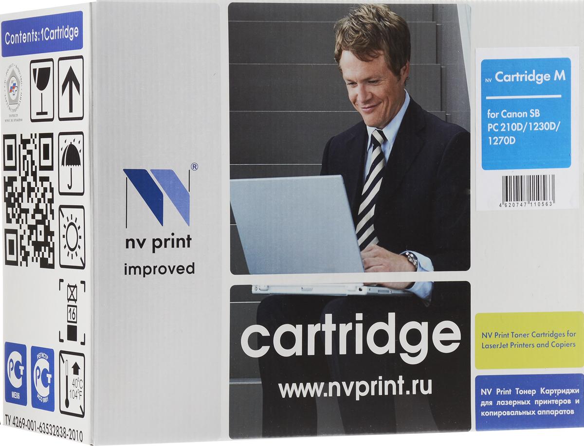 NV Print CanonM, Black тонер-картридж для Canon PC1210D/1230D/1270DNV-CANONMСовместимый лазерный картридж NV Print CanonM для печатающих устройств Canon - это альтернатива приобретению оригинальных расходных материалов. При этом качество печати остается высоким. Картридж обеспечивает повышенную чёткость чёрного текста и плавность переходов оттенков серого цвета и полутонов, позволяет отображать мельчайшие детали изображения. Лазерные принтеры, копировальные аппараты и МФУ являются более выгодными в печати, чем струйные устройства, так как лазерных картриджей хватает на значительно большее количество отпечатков, чем обычных. Для печати в данном случае используются не чернила, а тонер.