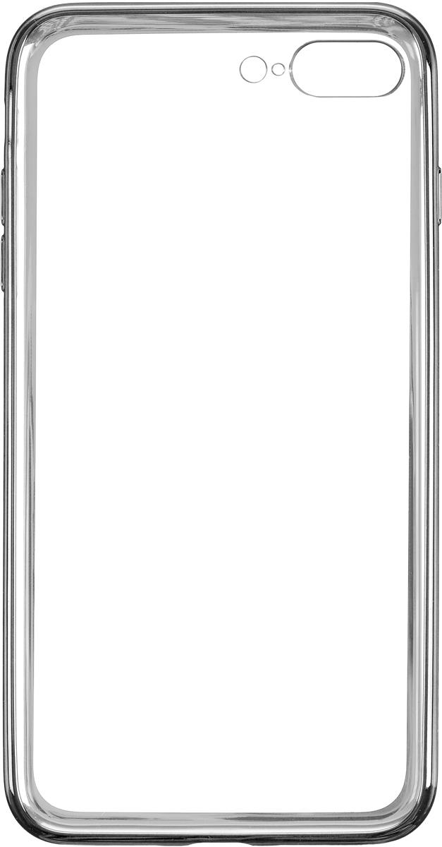 Deppa Gel Plus Case чехол для Apple iPhone 7 Plus, Graphite85260Чехол Deppa Gel Plus Case для Apple iPhone 7 Plus предназначен для защиты корпуса смартфона от механических повреждений и царапин в процессе эксплуатации. Плотный высокотехнологичный TPU (силикон) производства Bayer в разы повышает защитные функции чехла. Кейс эластичен, устойчив к изломам, не запотевает и не желтеет даже при длительной эксплуатации. Кейс надежно защищает iPhone со всех сторон и имеет все необходимые, тщательно выверенные отверстия для доступа к функциональным портам, разъемам и кнопкам смартфона. Вы можете легко зарядить устройство, не снимая чехол. Специально разработанный кейс для iPhone выполнен с применением особой технологии Electroplating: специальное гальванопокрытие и стильная рамка с эффектом металла придают особый шик вашему устройству.