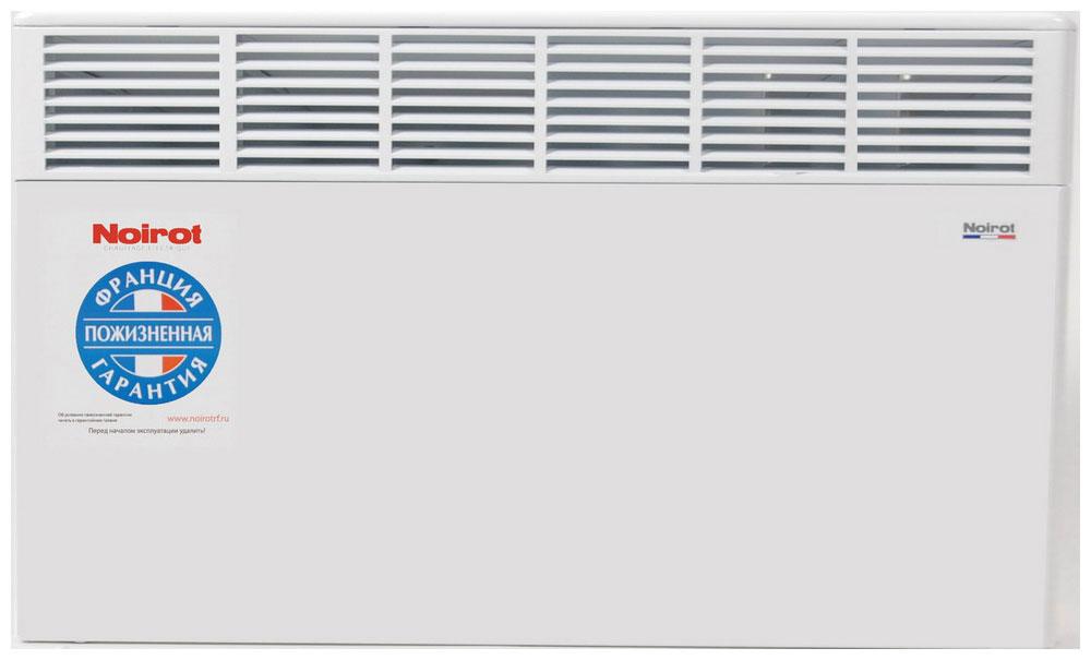 Noirot CNX-4 2000W обогревательHYH1187FJFSКонструктивные особенности конвекторов серии CNX-4 исключают возникновение посторонних шумов при нагреве и остывании электрических обогревателей и гарантируют полную безопасность в эксплуатации (отсутствие острых углов, нагрев поверхности не выше 60°С). Электронная автоматика выдерживает перепады напряжения от 150 В до 242 В, что наиболее актуально при частых скачках напряжения. На случай возможных перебоев с электропитанием в обогревателях предусмотрена функция авторестарта, восстанавливающая работу прибора в прежнем режиме. Обогреватели имеют II класс электрозащиты, не требуют специального подключения к электросети и не нуждаются в заземлении, что позволяет оставлять их включенными 24 часа в сутки. При точном соблюдении правил эксплуатации исключена любая возможность воспламенения. Градуированный термостат ASIC позволяет с точностью до градуса выставить желаемый температурный режим. Высокая точность поддержания температуры приводит к...
