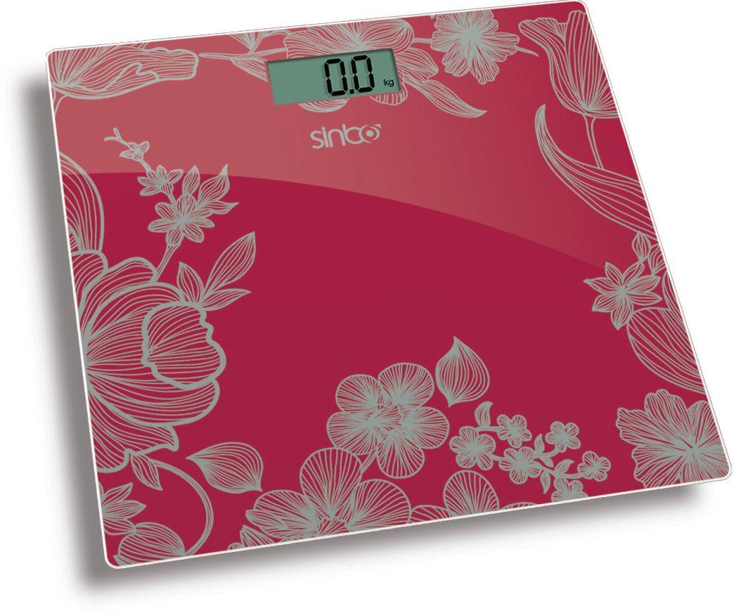 Sinbo SBS 4429, Red весы напольныеSBS 4429Напольные электронные весы Sinbo SBS 4429. Удобны для ежедневного контроля веса. Обладают высокой точностью измерения веса. Имеют устойчивую и особо прочную стеклянную платформу, что позволяет выдерживать большую нагрузку.