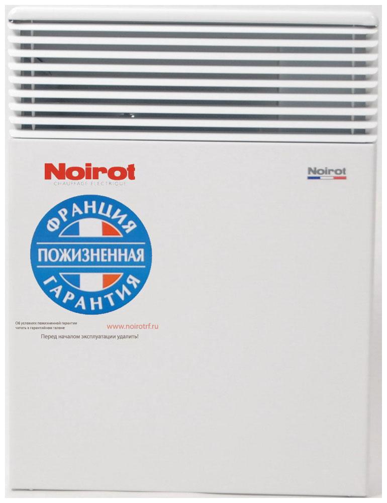 Noirot Spot E-3 Plus 750W обогревательHY73582ARERNoirot Spot E-3 Plus - это новый электрический обогреватель конвективного типа. Вся конструкция направлена на равномерное распределение тепла для обогрева с максимальным комфортом. Конвектор работает по принципу естественной конвекции. Холодный воздух, проходя через прибор и его нагревательный элемент, нагревается и выходит сквозь решетки-жалюзи, незамедлительно начиная обогревать помещение. Конструктивные особенности конвекторов серии Spot E-3 Plus исключают возникновение посторонних шумов при нагреве и остывании электрических обогревателей и гарантируют полную безопасность в эксплуатации (отсутствие острых углов, нагрев поверхности не выше 60°С). Электронная автоматика выдерживает перепады напряжения от 150 В до 242 В, что наиболее актуально при частых скачках напряжения. На случай возможных перебоев с электропитанием в обогревателях предусмотрена функция авторестарта, восстанавливающая работу прибора в прежнем режиме. Обогреватели...