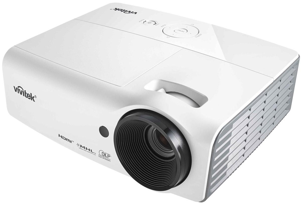 Vivitek D557WH мультимедийный проектор814964338792Vivitek D557WH – это мультимедийный проектор с оригинальным разрешением WXGA, которое особенно удобно при использовании проектора в сочетании с современными ноутбуками и широкоформатными экранами. Созданный на основе технологий DLP и BrilliantColor, Vivitek D557WH сочетает высокий уровень яркости (3000 ANSI Лм), контрастности (15000:1), набор основных аналоговых и цифровых интерфейсов (включая HDMI v1.4 + MHL), простоту управления и обслуживания, а также современные функции, в том числе поддержку Direct 3D через HDMI, что гарантирует владельцу долгие годы безупречной работы и совместимость с мультимедийными приложениями сегодня и в будущем. Благодаря новому алгоритму управления лампой и низким (0,5 Ватт) расходом энергии в режиме ожидания, отличительной особенностью нового проектора являются долговечность и экологичность. Срок службы лампы в режиме Dynamic ECO достигает 10000 часов, что значительно сокращает временные и финансовые затраты на ...