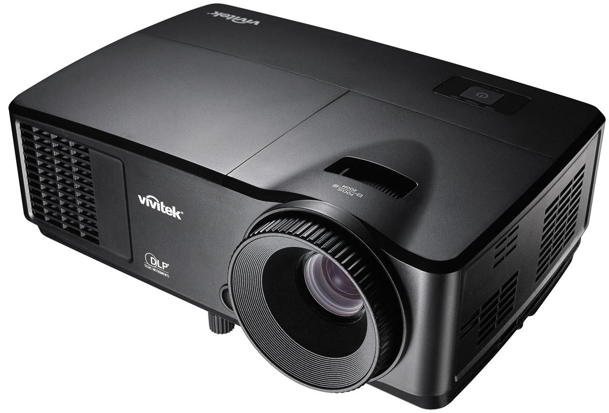 Vivitek DS234 мультимедийный проектор813097021885Проектор Vivitek DS234 – это сочетание широких возможностей и доступной цены. Обладая компактными габаритами (высота всего 111,5 мм) и минимальным весом (1.97 кг), данная модель является идеальным вариантом для быстрой установки в переговорной комнате, учебном классе или использовании на выездных мероприятиях. Проектор, созданный на основе технологии BrilliantColor, сочетает высокую яркость 3200 ANSI Лм, контрастность 10000:1, возможность создания изображений вплоть до 290 по диагонали и оригинальное разрешение SVGA (800 x 600). Дополнительные возможности – это поддержка 3D, 2 ваттный динамик и набор современных цифровых и аналоговых интерфейсов для многовариантного подключения источников сигнала. За счет увеличения срока службы лампы до 8000 часов (в режиме Dynamic Eco), энергопотребления в режиме ожидания менее 0.5 Вт и отсутствии фильтров, модель DS234 надежна, энергоэффективна и экономична. Vivitek DS234 – это прекрасный выбор для тех, кто заботится о...