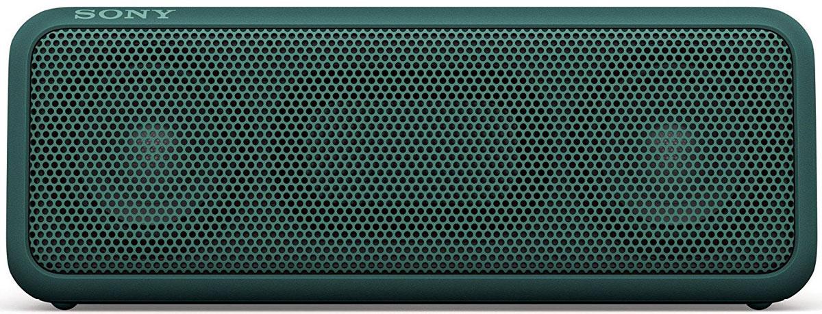 Sony SRS-XB3, Green портативная акустическая система