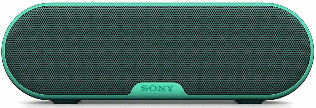 Sony SRS-XB2, Green портативная акустическая система