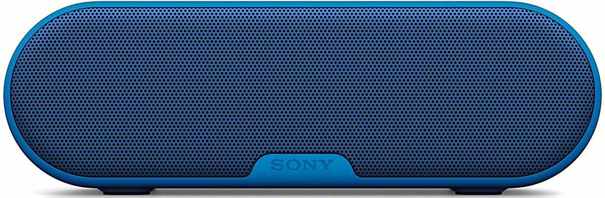 Sony SRS-XB2, Blue портативная акустическая система