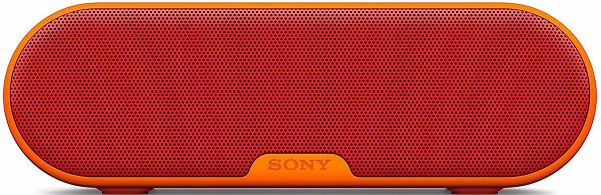 Sony SRS-XB2, Red портативная акустическая системаSRSXB2R.RU4Акустическая система Sony SRS-XB2 линейки Extra Bass обеспечивает яркое звучание танцевальной музыки, а благодаря водонепроницаемой конструкции позволяет брать музыку с собой в любой ситуации. Инновационная технология Extra Bass разработана специально для танцевальной музыки и обеспечивает яркое и энергичное звучание басов. Просто нажмите кнопку Extra Bass и почувствуйте мощное звучание любимой музыки. Функция работает на базе уникального процессора цифровой обработки сигнала, который усиливает низкие частоты и увеличивает громкость звука. Широкополосный динамик новой разработки с мембраной большого диаметра 42 мм, мощным магнитом и длинноходовым диффузором воспроизводит глубокие басы и обеспечивает высокое звуковое давление для яркого звучания низких нот. Благодаря долгой работе от аккумулятора без подзарядки можно слушать музыку весь день напролет, а водонепроницаемая конструкция позволит взять колонку с собой на улицу, слушать музыку,...