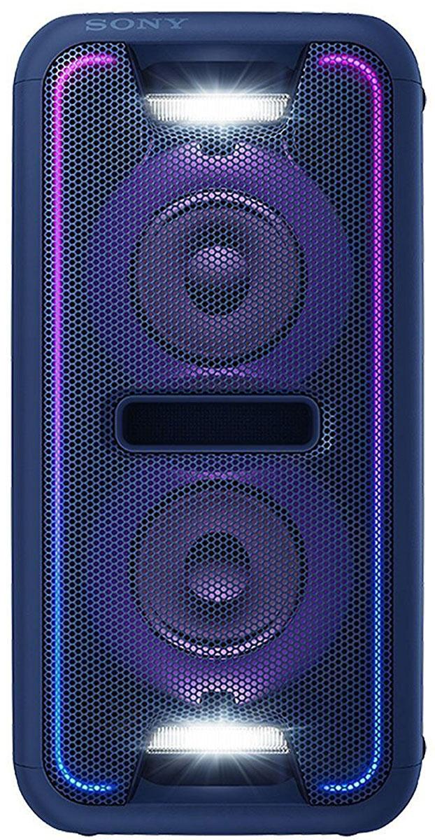 Sony GTK-XB7, Blue акустическая системаGTKXB7L.RU1Создайте яркое ощущение праздника для любой вечеринки благодаря мощной моноблочной аудиосистеме Sony GTK-XB7. Функция Extra Bass и яркая подсветка помогут создать клубную атмосферу у вас дома. Активируйте режим с помощью кнопки Extra Bass, чтобы добавить мощности музыке. Этот режим усиливает звучание низких частот и обеспечивает мощный глубокий бас. Просто нажмите на кнопку, чтобы активировать режим, и приготовьтесь к оглушительному насыщенному звучанию басов. Создайте атмосферу клуба с помощью светодиодной подсветки динамика. Динамики со светодиодной подсветкой поддерживают различные многоцветные световые эффекты: от чисто белого до радужного. Синхронизируясь с музыкальным ритмом, сила и частота мерцания подсветки всегда максимально точно передают музыкальное настроение и клубную атмосферу. Удобная двухпозиционная конструкция обеспечивает великолепный звук вне зависимости от особенностей расположения акустической системы. Поставьте...