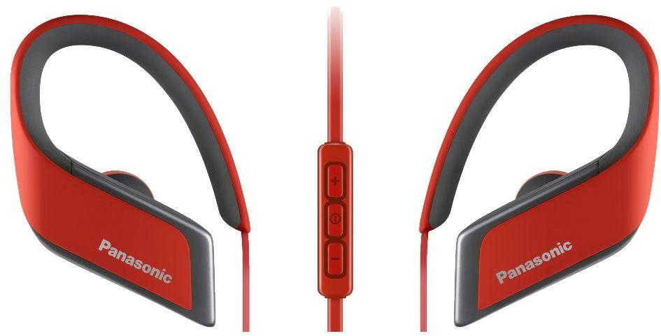 Panasonic RP-BTS30GC-R, Red наушникиRP-BTS30GC-RСпортивные Bluetooth наушники Panasonic RP-BTS30GC-R, Red обеспечивают высококачественное звучание даже во время интенсивных занятий спортом, а система влагозащиты класса IPX4 позволит продолжить тренировку, несмотря на дождь. Гибкая и лёгкая конструкция наушников обеспечивает надежную фиксацию в ухе и удобство ношения. 15 минутной зарядки батареи, наушники Panasonic RP-BTS30GC-R могут работать в течение 70 минут, что позволяет использовать их на протяжении долгого времени с небольшими перерывами. При полной зарядке, обеспечивают 6 часов воспроизведения.