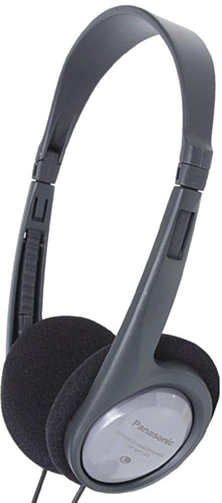 Panasonic RP-HT010GU-H наушникиRP-HT010GU-HЛегкие наушники, частотный диапазон 16 Гц – 22 кГц