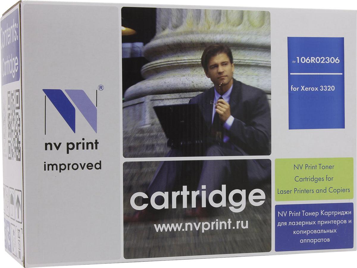 NV Print 106R02306, Black тонер-картридж для Xerox Phaser 3320NV-106R02306Совместимый лазерный картридж NV Print 106R02306 для печатающих устройств Xerox - это альтернатива приобретению оригинальных расходных материалов. При этом качество печати остается высоким. Картридж обеспечивает повышенную чёткость чёрного текста и плавность переходов оттенков серого цвета и полутонов, позволяет отображать мельчайшие детали изображения. Лазерные принтеры, копировальные аппараты и МФУ являются более выгодными в печати, чем струйные устройства, так как лазерных картриджей хватает на значительно большее количество отпечатков, чем обычных. Для печати в данном случае используются не чернила, а тонер.