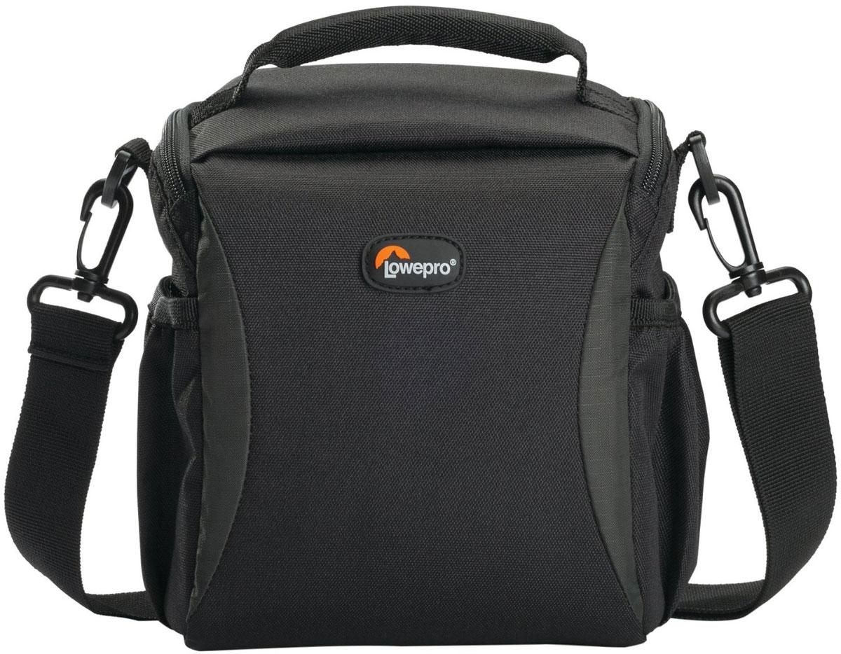 Lowepro Format 140, Black сумка для фотокамерыLP36511-0RUСовременная плечевая сумка Lowepro Format 140 отлично подойдет для фотографов, которым нужна компактная надежная защита оборудования. Модель имеет одно основное отделение с системой мягких перегородок, которая поможет грамотно организовать пространство сумки. Lowepro Format 140 подходит для множества современных фото- и видеокамер. Множество карманов обеспечивают удобный доступ к аксессуарам и самому устройству. Эту сумку можно носить как в руках, так и на плече. Прочный материал и надежные молнии обеспечат долгий срок службы Lowepro Format 140 и надежную защиту вашей камеры.